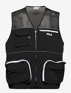 MEN UTTAM vest - black