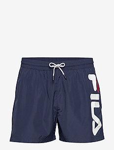 MEN MICHI beach shorts - badebukser - black iris