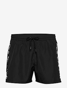 MEN SHO swim shorts - BLACK
