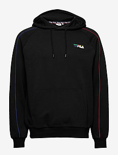 MEN OFER hoody - basic sweatshirts - black