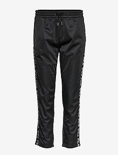 WOMEN PADMA cropped pants - spodnie dresowe - 002-black