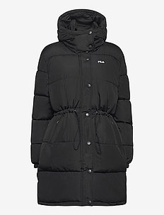 WOMEN TENDER long puffer jacket - padded coats - black