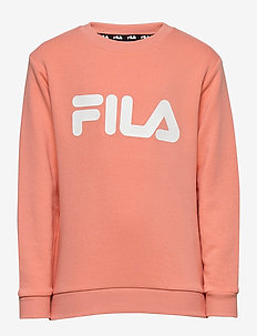 KIDS CLASSIC logo crew sweat - bluzy - lobster bisque