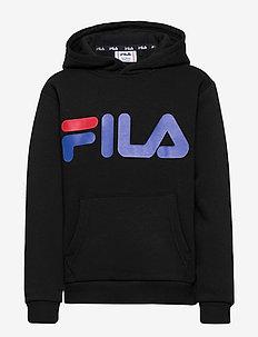 TEENS ANDREA classic logo hoody - kapuzenpullover - black