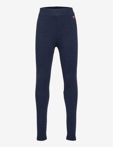 ANTONELLA logo legging - sportbroekjes - black iris