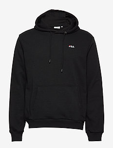 MEN EDISON hoody - basic sweatshirts - black