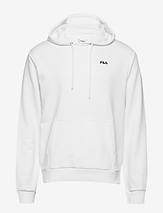 MEN EDISON hoody - basic sweatshirts - bright white