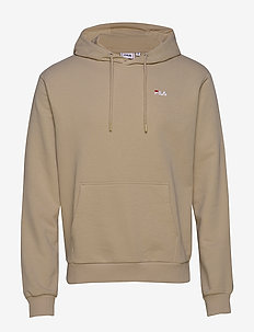 MEN EDISON hoody - basic sweatshirts - oxford tan