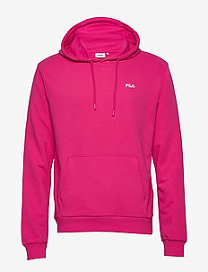 MEN EDISON hoody - basic sweatshirts - pink yarrow