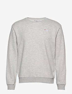 MEN EFIM crew sweat - LIGHT GREY MELANGE BROS