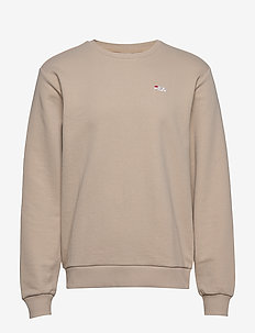 MEN EFIM crew sweat - basic sweatshirts - oxford tan