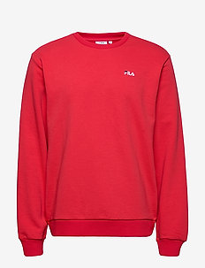 MEN EFIM crew sweat - basic sweatshirts - true red