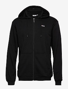 MEN ELAZER sweat jacket - basic sweatshirts - black