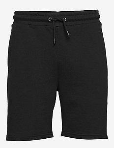 MEN ELDON sweat shorts - casual shorts - black