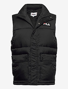 MEN SALO puffer vest - vesten - black