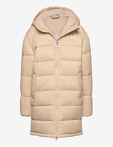 TEENS ZAON puff hood jacket - daunen- und steppjacken - irish cream