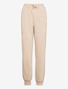 WOMEN EDENA high waist sweat pants - trainingsbroek - oxford tan