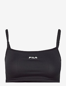 WOMEN ALIKA strap top - zachte beha - black