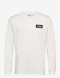 MEN CICERO long sleeve shirt - sweats - blanc de blanc