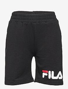 KIDS UNISEX ZOE basic shorts - shorts - black
