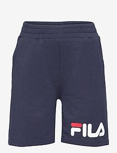 KIDS UNISEX ZOE basic shorts - shorts - black iris