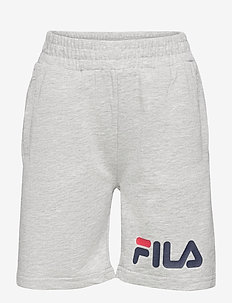 KIDS UNISEX ZOE basic shorts - shorts - light grey melange bros