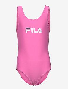 KIDS GIRLS DINA swimsuit - swimsuits - super pink