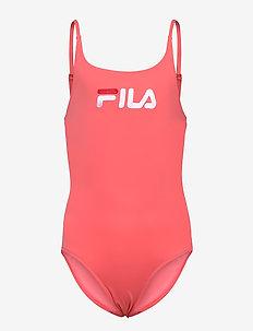 TEENS GIRLS CAROL swim suit - badpakken - calypso coral