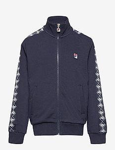 TEENS BOYS OSCAR taped track jacket - sweatshirts - black iris