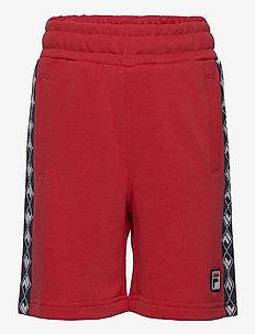 TEENS BOYS XEN taped sweat shorts - shorts - true red