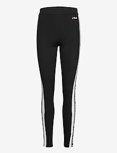 WOMEN TASYA leggings - leggings - black-bright white