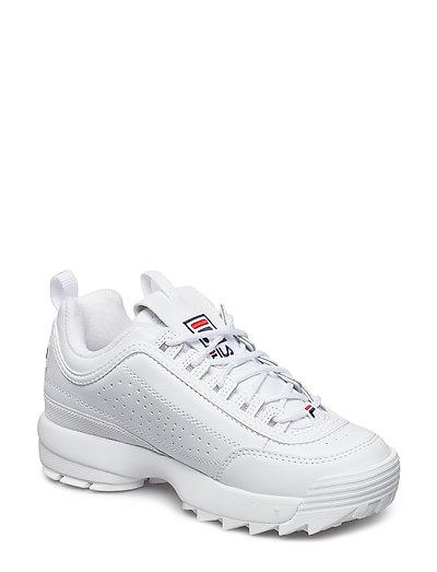 Disruptor Low Wmn Niedrige Sneaker Weiß FILA