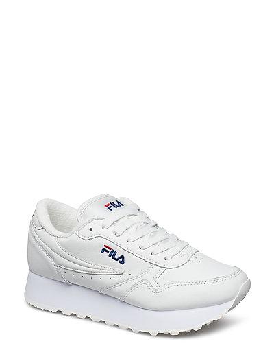 FILA Orbit Zeppa L Wmn Niedrige Sneaker Weiß FILA