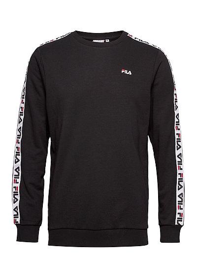 FILA Men Aren Crew Sweat-shirt Pullover Schwarz FILA