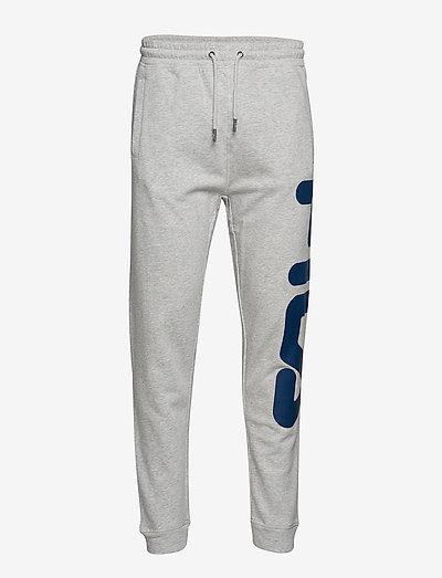 CLASSIC PURE pant - pantalons - light grey melange