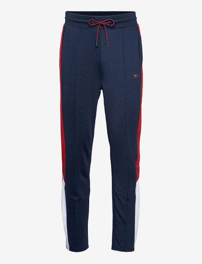 PALTI pants - pantalons - black iris-true red-bright white