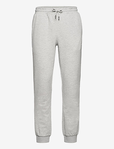 MEN WILMET sweat pants - pantalons - light grey melange bros