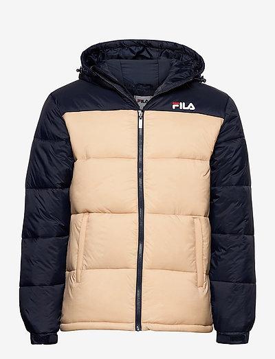 SCOOTER puffer jacket - veste sport - irish cream-black iris