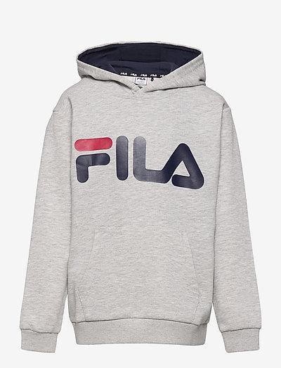 ANDREY classic logo hoody - pulls a capuche - light grey melange bros