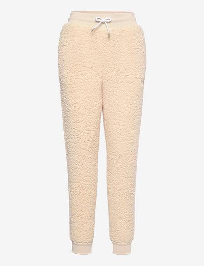 YULE sherpa pants - pantalons - brazillian sand