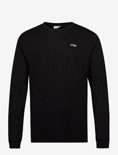 EDRIC long sleeve shirt - hauts à manches longues - black