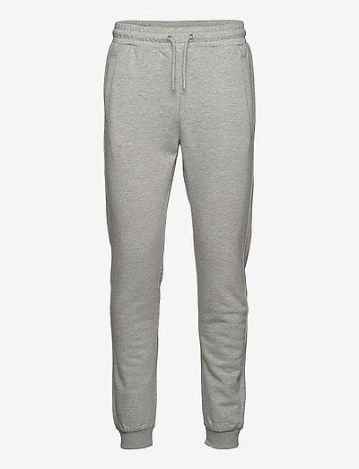 EDANC sweat pants - pantalons - light grey melange bros
