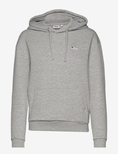 EDOLIE hoody - pulls à capuche - light grey melange bros