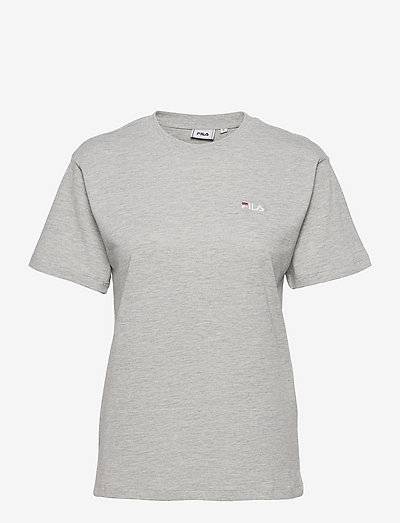EFRAT tee - t-shirts - light grey melange bros