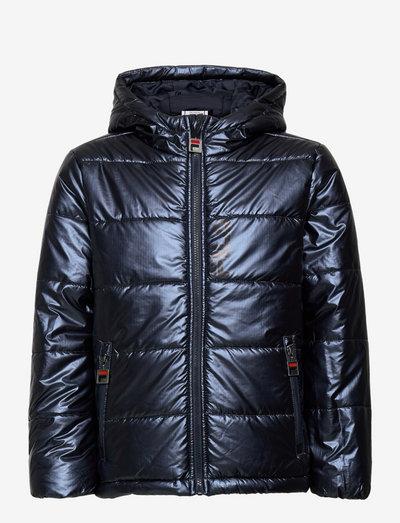 THEIS hooded puff jacket - vestes thermo-isolantes - black iris