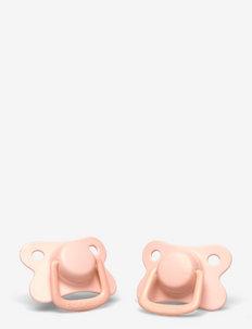 2-pack pacifiers - peach +6 months - tutit - peach