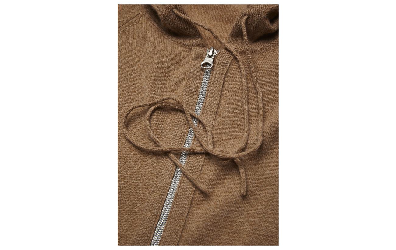 Mel Cashmere Sport Camel K 100 Filippa Hoodie Cachemire Soft xtAwO6Y6