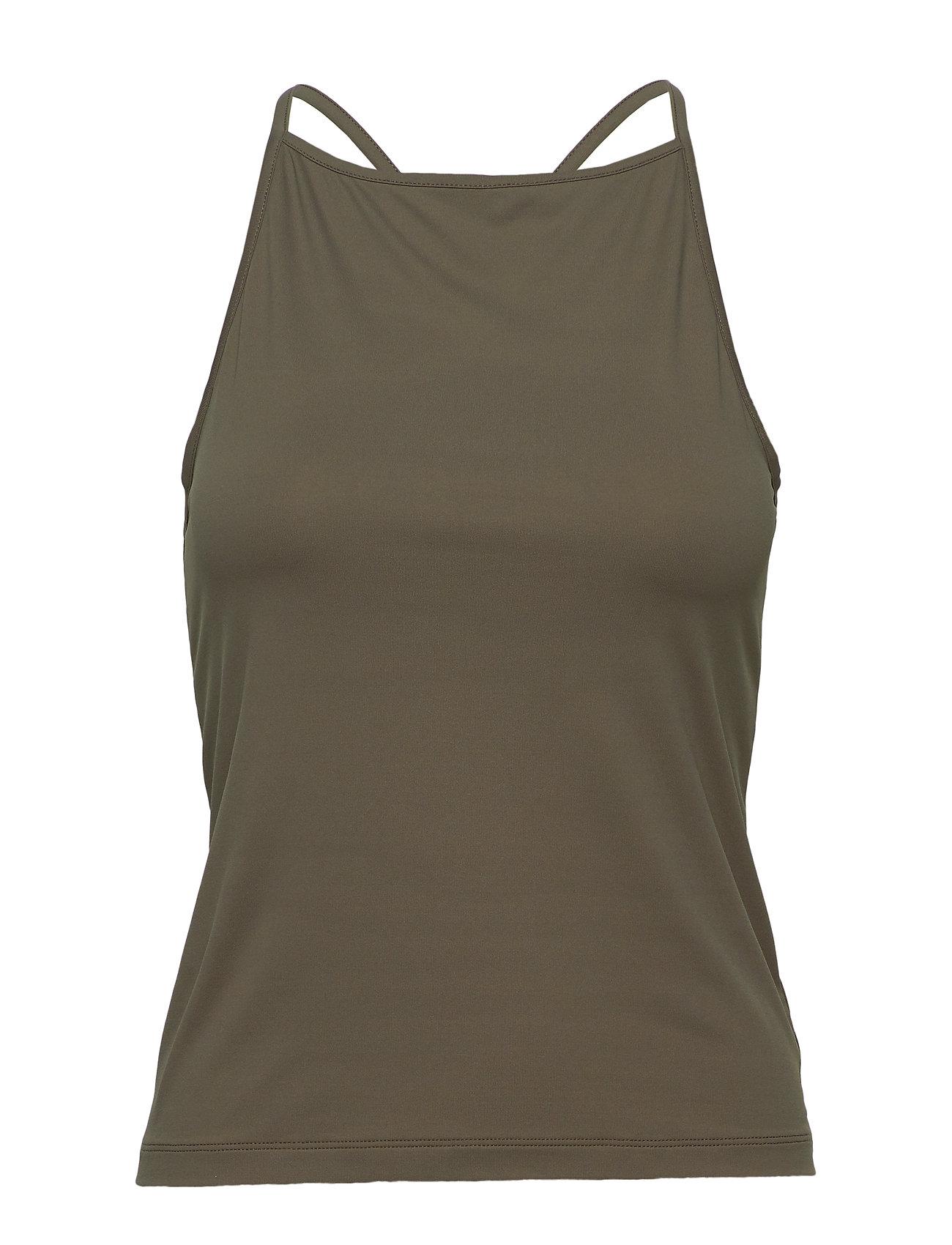Filippa K Soft Sport Soft Cross-Back Tank T-shirts & Tops Sleeveless Grön Filippa K Soft Sport
