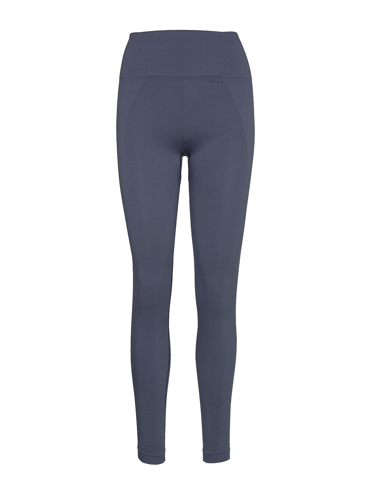 Filippa K Soft Sport High Seamless Leggings - MISTY BLUE
