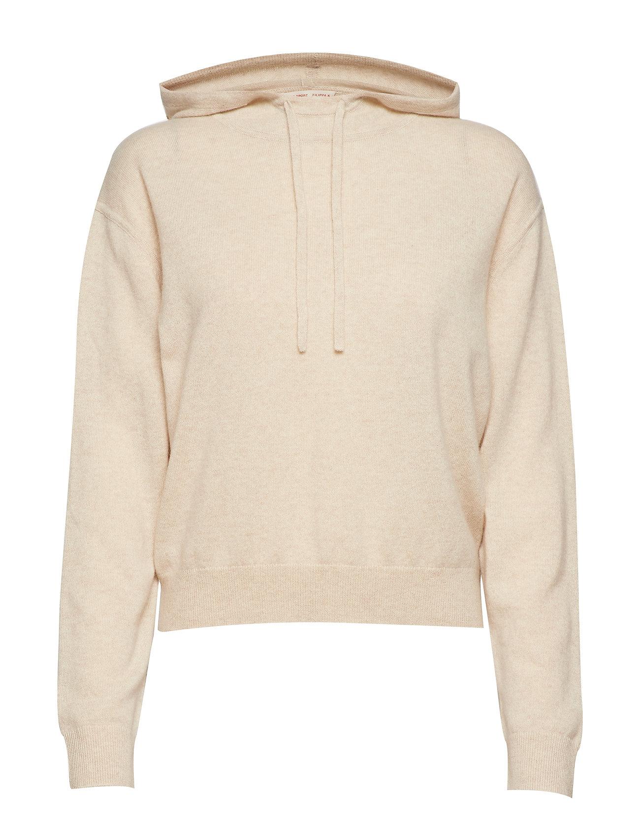 Filippa K Soft Sport Cashmere Hood Sweater - MOUSSE MEL